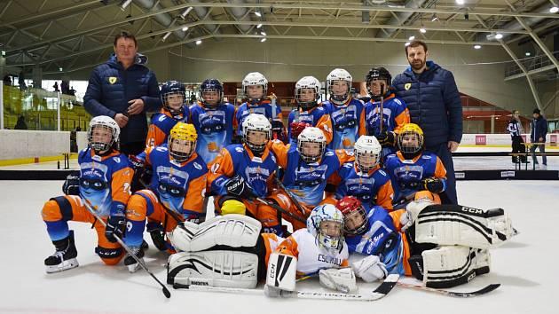 Hokejoví čtvrťáci HC Spartak Uherský Brod se ve Vídni zúčastnili dalšího turnaje Euro mini hokejové ligy ve Vídni.