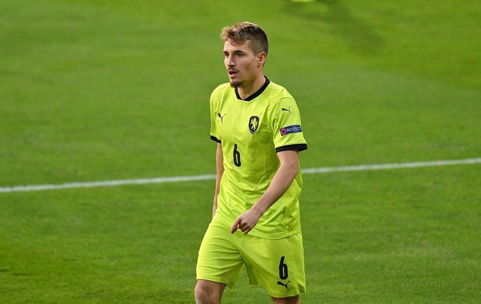 Záložník české fotbalové reprezentace Michal Sadílek. Foto: www.fotbal.cz