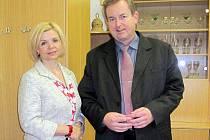 Starosta Libor Karásek se s ministryní spravedlnosti Danielou Kovářovou na bezúplatném převodu věznice na město nedohodl.