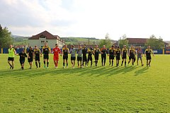 Fotbalisté Strání ve 26. kole Divize D deklasovali Havlíčkův Brod 8:1 a v tabulce se dostali právě před Slovan na třinácté místo.