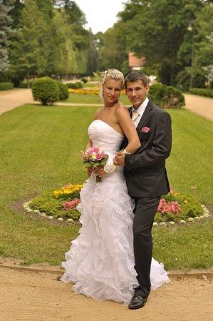 Soutěžní svatební pár číslo 130 - Aneta a Ondřej Hradovi, Přerov.