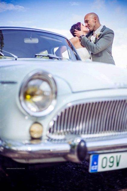 Soutěžní svatební pár číslo 286 - Barbora a Filip Drastichovi, Olomouc.