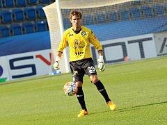 Brankář fotbalistů Slovácka Milan Heča si poslední zápasy užíval společně s fanoušky. Nuly ale nepočítá.