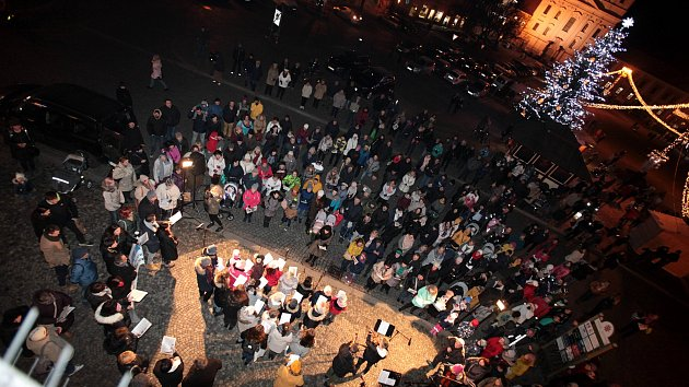 Česko zpívá koledy 2019 v Uherském Hradišti