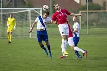 Útočník Uherského Brodu Martin Váňa ve třetí lize nastřílel už čtyři branky.