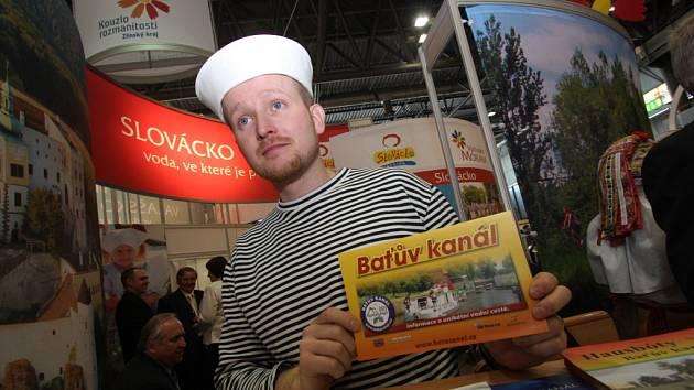 Expozice Baťova kanálu na veletrhu cestovního ruchu nebude chybět ani letos.