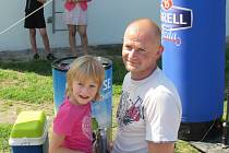 Pod Birell bránu v Uherském Hradišti zamířil v sobotu 29. srpna také Pavel Žufánek