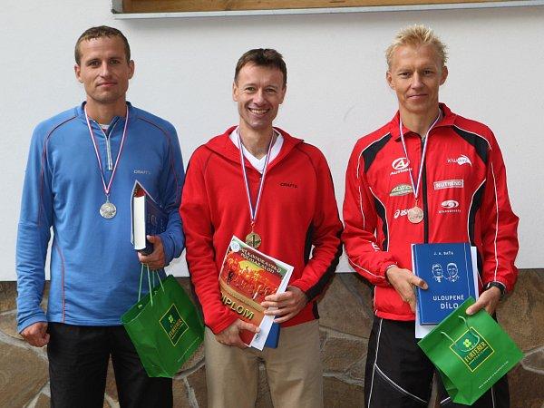 II. ročník Velkomoravský půlmaraton: vítězní muži