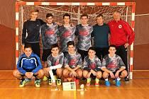 Na trůn usedli fotbalisté Gymnázia Uherské Hradiště.