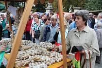 Slavnosti česneku v Buchlovicích. Ilustrační foto.