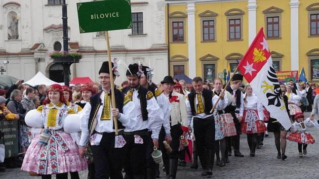 Slovácké slavnosti vína a otevřených památek v Uherském Hradišti 2014.