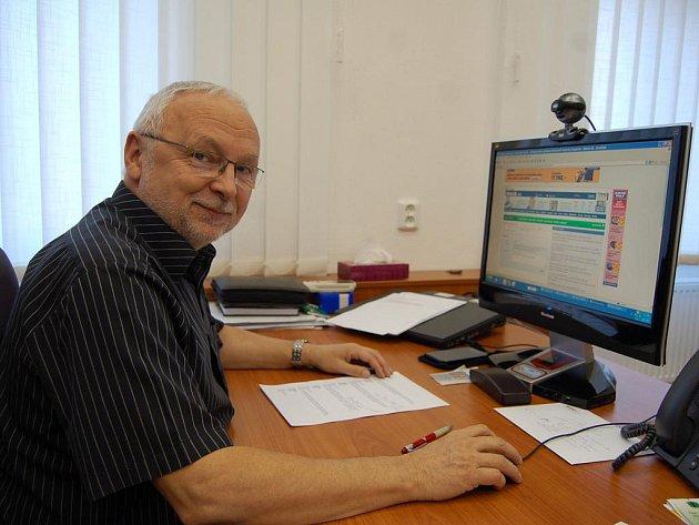 Nový starosta Uherského Hradiště Květoslav Tichavský v on-line rozhovoru pro Slovácký deník.