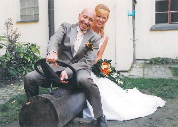 Soutěžní svatební pár číslo 192 - Zuzana a Roman Vrábelovi, Olomouc.