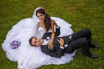 Soutěžní svatební pár číslo 67 - Martina a Jan Varaďovi, Ostrožská Lhota