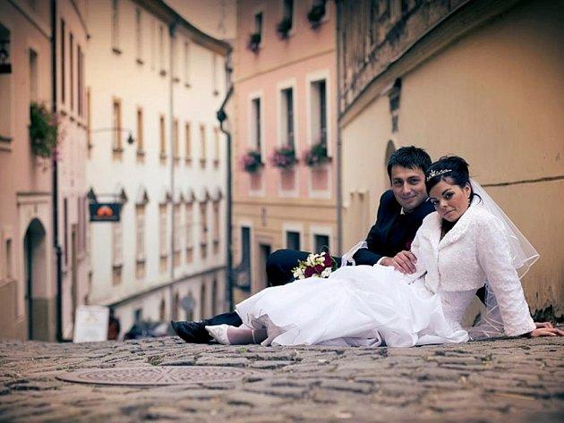 Soutěžní svatební pár 85 - Zuzana a Lubomír Kociánovi, Olomouc.