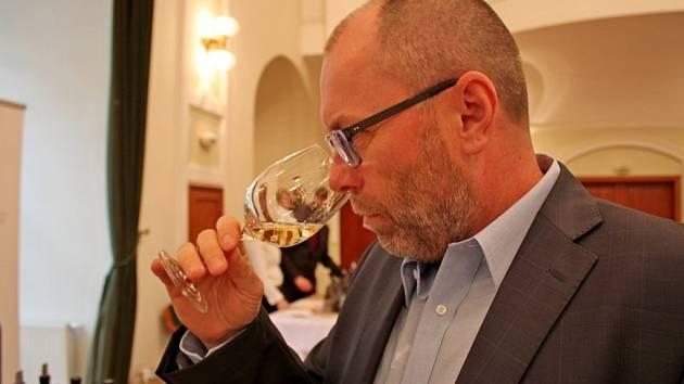Prezident Svazu vinařů ČR Tibor Niytray.