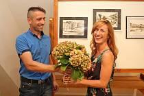 VMuzeu Podhradí Buchlovice budou až do 21. září kvidění obrazy Veroniky Maňáskové Daňkové.
