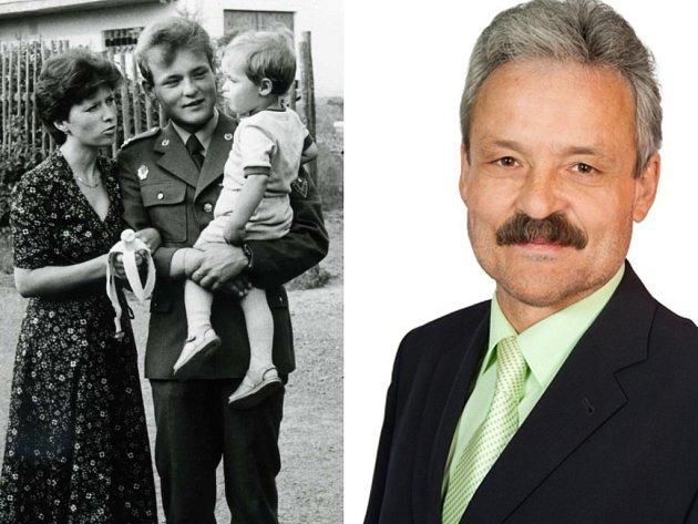 Ivo Frolec (vlevo jako dítě).