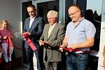 VBuchlovicích byla vneděli otevřená nová víceúčelová hala Cihelna za téměř 47 milionů korun.