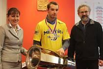 Mistrovský pohár zlínských beranů ve Vlčnově – s představiteli obce