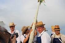 Vinaři v Polešovicích v sobotu 16. srpna symbolicky uzamčeli vinohrady v rámci tradičního Zarážání hory.