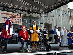 Třídenní festival v Uherském Brodě, nazvaný Bílokarpatské slavnosti. Ilustrační foto