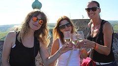 Den vína na hradě Buchlov.