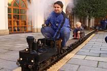 Výstava vláčků v uherskohradišťské Redutě nabídla zmenšené modely nejrůznějších typů vlaků.