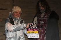 V Archeoskanzenu Modrá pokračuje natáčení filmu o Cyrilovi a Metodějovi.