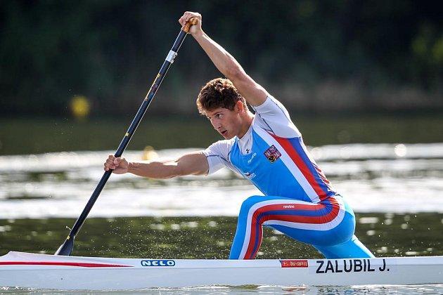 Osmnáctiletý kanoista Ostrožské Nové Vsi Jiří Zalubil prožívá nejlepší období v kariéře.