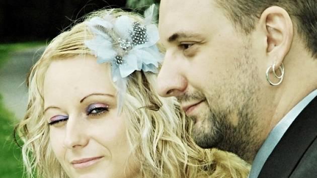 Soutěžní svatební pár číslo 233 - Monika a Michal Gröplovi, Kroměříž