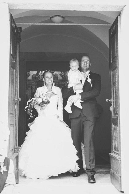 Soutěžní svatební pár číslo 243 - Sven Fahrland a Markéta Fahrland Dočkalová, Lukov uZlína.