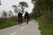 Cyklostezka Uherský Brod - Nivnice. Ilustrační foto.