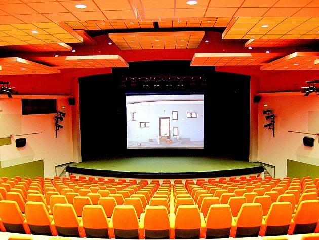 Pohled do sálu zrekonstruovaného kina Hvězda.