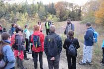 """Bánovské """"sopky"""", tak lze nazvat skupinu několika lomů pod Velkým Lopeníkem, které jsou geologickou i geomorfologickou raritou jihovýchodní Moravy. Lom Rasová."""