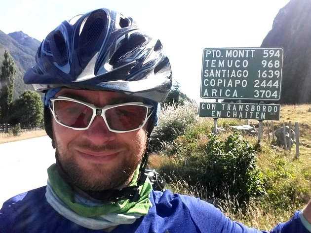 Miroslav Šlegl jel kus cesty v chilském vedru.