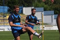 Fotbalisté Slovácka v pátek zahájili přípravu na novou sezonu.