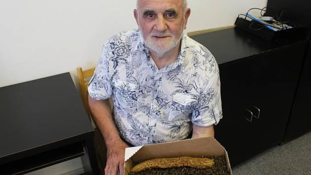 Úhyn veškerého včelstva v úlu zaznamenal koncem května Antonín Mahdal ze Suché Lozi.