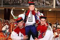 Na Krojovém plese ve vlčnovském Klubu sportu a kultury představili příštího krále. Tím bude devítiletý Josef Pavelčík.