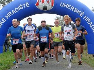 II. ročník Velkomoravský půlmaraton: start