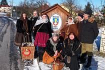 Sobotní rozhýbání těl v přírodě přišlo po vánočních a novoročních svátcích vhod i členům Baně Babice.