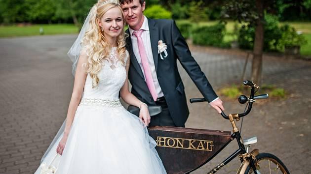 Soutěžní svatební pár číslo 14 - Honza a Katka Zouharovi, Zlín