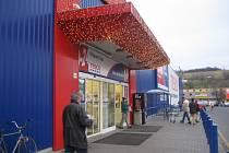 Supermarket Tesko v Uherském Hradišti. Ilustrační foto.