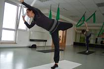 Antigravity fitness joga.