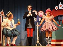 Nezbedná pohádka ve Slováckém divadle v Uherském Hradišti.