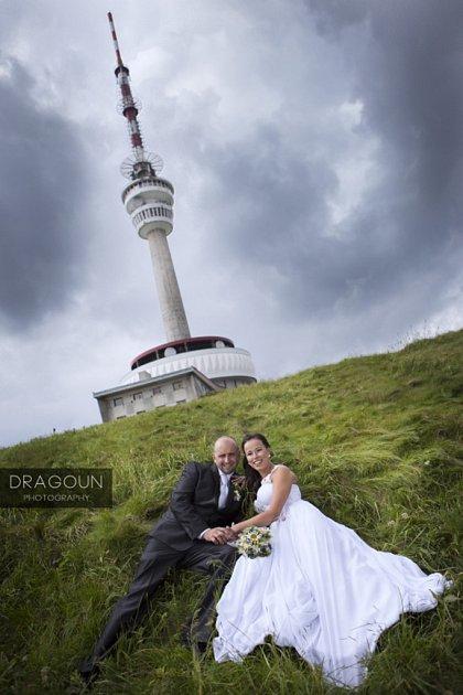 Soutěžní svatební pár číslo 64 - Aneta a Pavel Dostálovi, Olomouc.