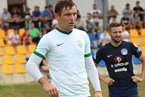 Útočník Roman Haša se naposledy utkal se Slováckem v rámci letní přípravy v roce 2019.