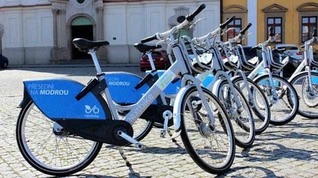 Sdílená kola v Uherském Hradišti