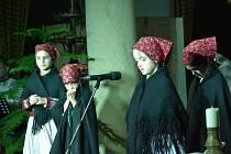V brodském muzeu vystoupili folkloristé z Březové.