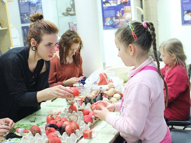Velikonoce slavili ve Slováckém muzeu s předstihem.